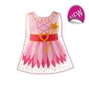 Girls Fairy Princess Tabards PVC
