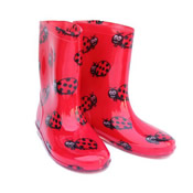 Childrens Ladybird Wellies