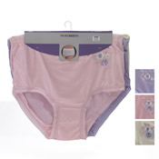 Ladies Maxi Briefs Pastel