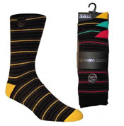 Mens Fashion Stripe Socks