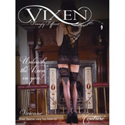 Vixen Vivienne Sheer Lace Top Hold Up