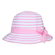 Girls Straw Hat with Ribbon