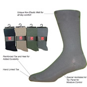 Mens Unique Welt Non-Elasticated Socks
