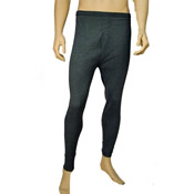 Mens Thermal Underwear Long Johns Grey