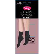 40 Denier Opaque Anklets Silky