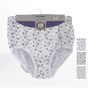 Ladies Maxi Briefs Floral Big Sizes