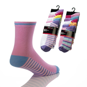 Childrens 5 pack Girls Socks