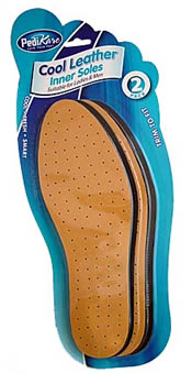 Cool Leatherette Insoles