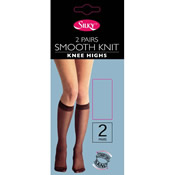 Smooth Knit Knee Highs