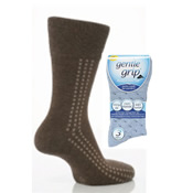 Mens Gentle Grip Socks Big Foot