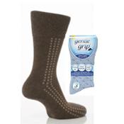 Mens Gentle Grip Socks Big Foot
