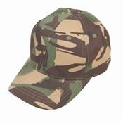 Childrens Camo Baseball Cap