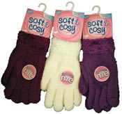 Ladies Soft & Cosy Gloves