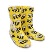 Childrens Bumble Bee Wellies