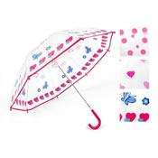 Clear Childrens Umbrella Fancy Design