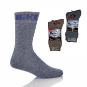 Mens Cotton Rich Hike Socks