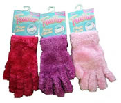 Ladies Feather Magic Gloves
